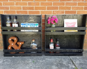 Set of 2 - Liquor/Wine Cabinet
