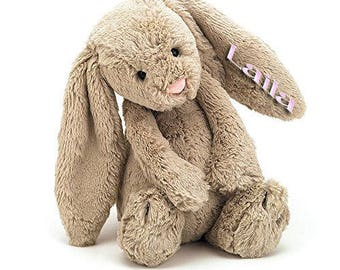 Personalized Adorable Easter Bunny