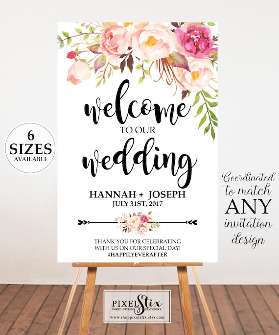 welcome poster design