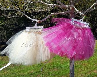 Tutu Skirt for girls with applique belt