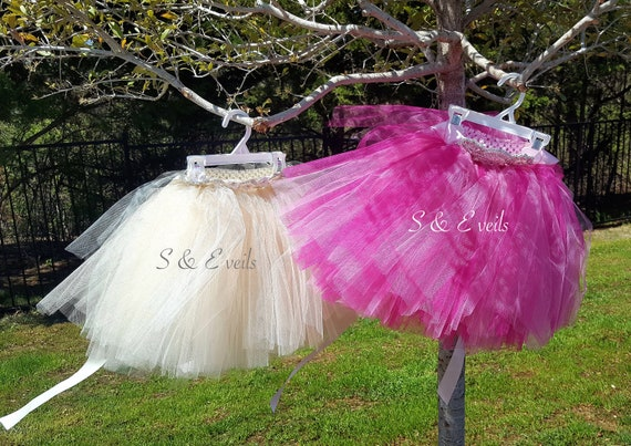 Tutu Skirt for girls with applique belt