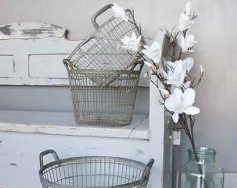 Vintage French Potato Basket