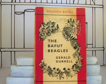The Bafut Beagles by Gerald Durrell (Vintage, Penguin, Travel)