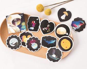 45 Pieces Little Dreams Stickers