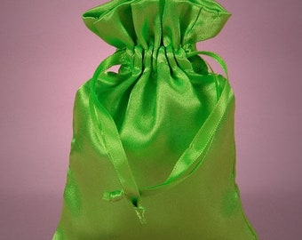 TAX SEASON Stock up 12 Pack  4 X 6  inch Satin Drawstring Bags Inch Size Great For Gifts, Favors, Sachets, Weddings