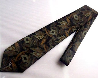 """Free Shipping""""CHRISTIAN DIOR MONSIEUR Neckties Floral Made in usa"""