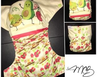 Guacamole OS Pocket diaper