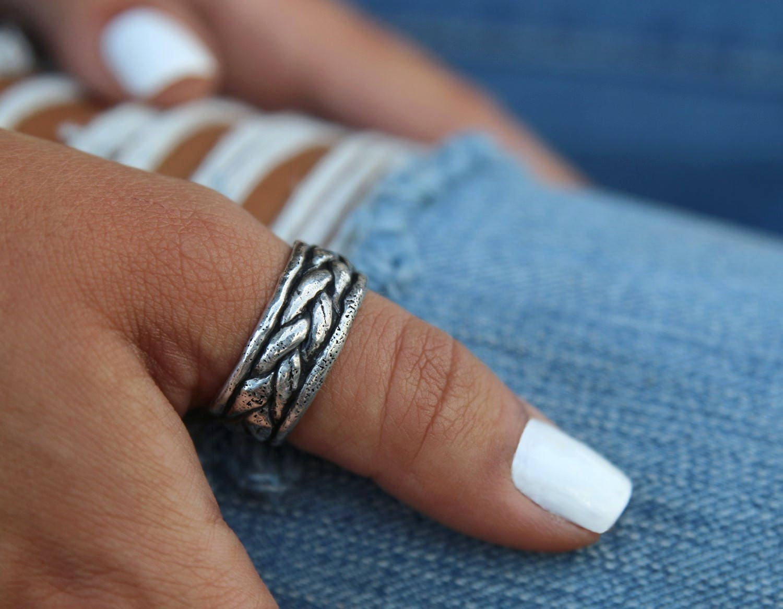 Boho Rings Thumb Ring Boho Jewelry Handmade Boho Sterling