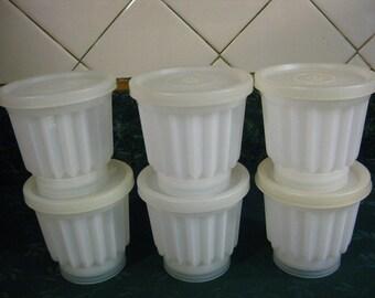 Vintage Tupperware Jelette Set - Tupperware - Jelette - Molds - Gelatin Mold - Vintage - Kitchen - Jello Mold - Gift - Gifts For Her - Mold