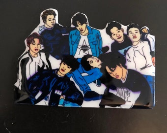 exo group pin (made when ordered)