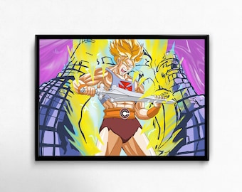He-Man Trunks I've Got The Power 80s art prints poster