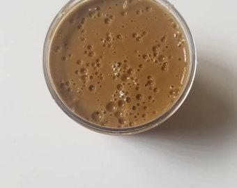 Chocolatey carmel drizzle