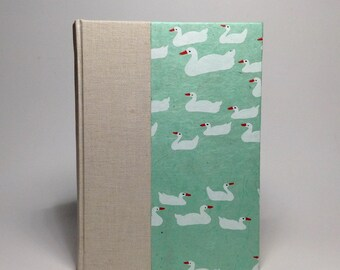 White Duck Journal - Lined Pages
