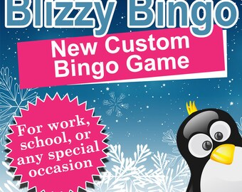 Custom Picture Bingo Games for Work, School, or Any Special Occasion