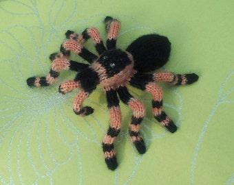 Hand Knitted Amigurumi Tarantula Cute N Cuddly Gothic