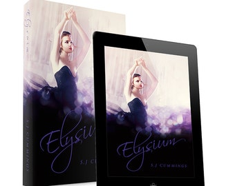 Elysium- Premade book cover design- Ebook & Print available