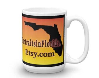 PortraitsinFlorida Coffee Mug made in the USA