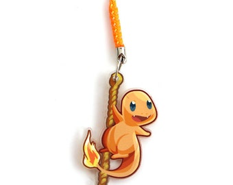 Doublesided 1.5 Inch Charmander Charm