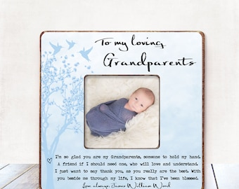 Grandparents Gift Grandma Gift Grandpa Gift Grandma Birthday Gift Grandma CHRISTMAS Gift New Grandmother Gift Grandfather Baby Frame