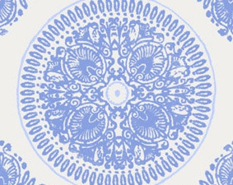 Impressions Medallion by Ty Pennington in Royal Blue - 1 yard