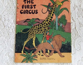 Vintage Children's Book: The First Circus