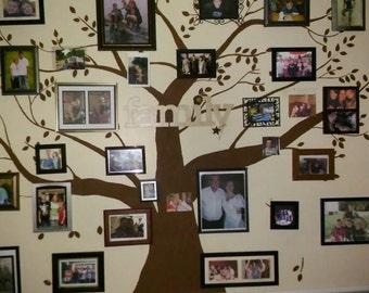 Custom made large family tree