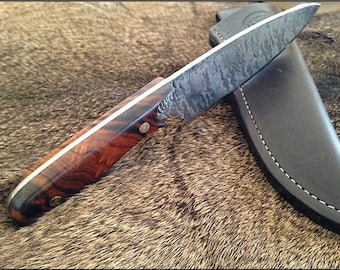 Hand Forged Drop-Point Knife - The Sojourner