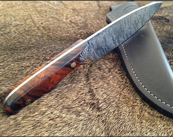Drop-Point Knife - The Sojourner