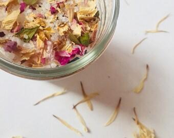 Lotus Aromatherapy Bath 6oz | Bath Salts | Bath and Beauty | Organic Bath | Bohemian Gifts | Hippie Gifts | Best Bath Salts