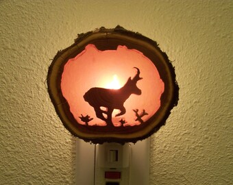 Antelope nightlight