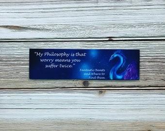 Fantastic Beasts- Bookmark