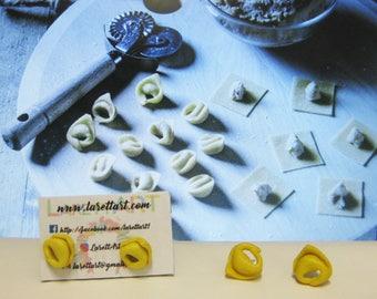 Tortellini Earrings