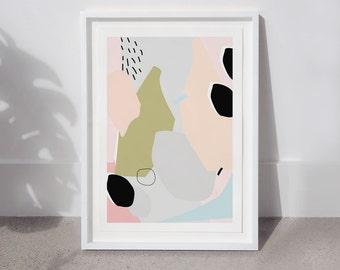 Bits & Pieces Print