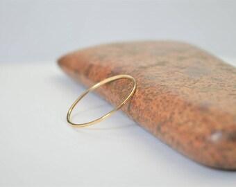 Solid 14k Yellow Gold Square Ring, Smooth Stacking Ring, Minimal Gold Ring, Simple Wedding Ring, Solid Gold Ring, 14k Gold Ring, Real Gold
