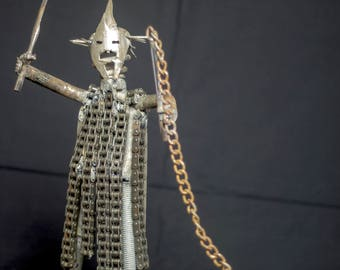 Witch King of Angmar made from scrap metal