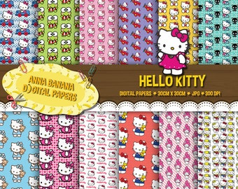 Hello Kitty Digital Paper