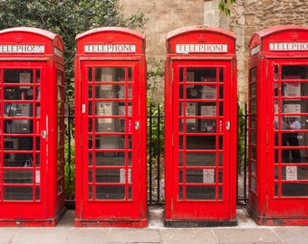 London Phone booths, red phone booths, London photography.
