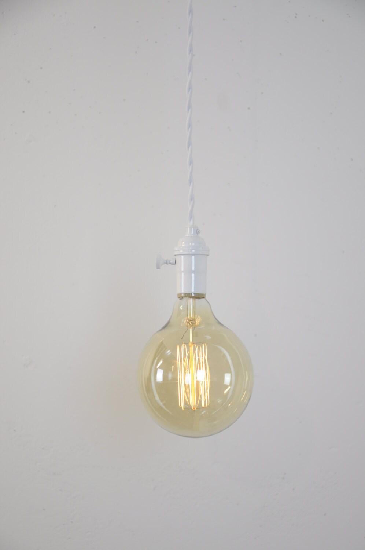 Weiße Anhänger-Licht Lampe Plug In Anhänger Küche