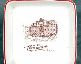 BTS RUPE TARPEA Roma pottery Ashtray