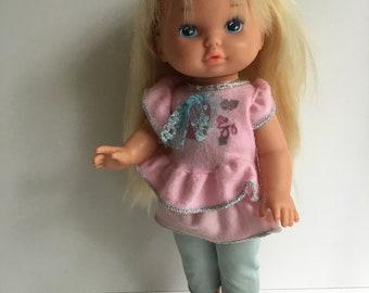 Original Vintage Mattel LI'L MISS MAKEUP Doll