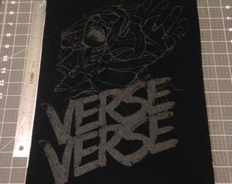 Verse back patch