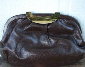 ViNTaGe CoCOa LeAThER CLuTCh