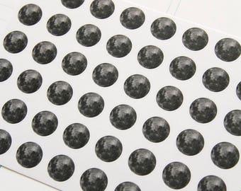 54 Vollmond Aufkleber, Zeitraum Aufkleber, Sticker, Hai Woche Erinnerung, Eclp Filofax glücklich planner