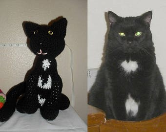 Stuffed Amigurumi Kitty *Custom-made per order*