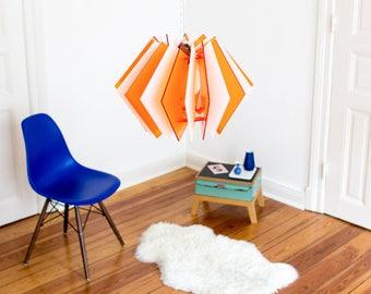 gemütliche Deckenlampe, Deckenleuchte, Esszimmer Lampe, Laser cut Lampenschirm, Wohnzimmer Lampe, skandinavische Beleuchtung, Pendellampe