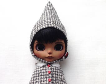 Blythe set cloak and gnome hat