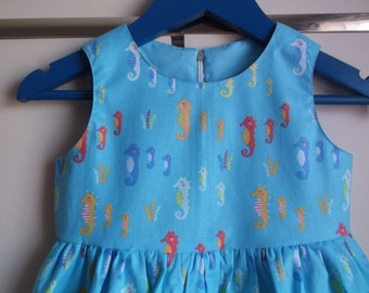Seahorses dress