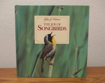 Gifts of Nature The Joy of Songbirds, National Wildlife Federation, Birding Book