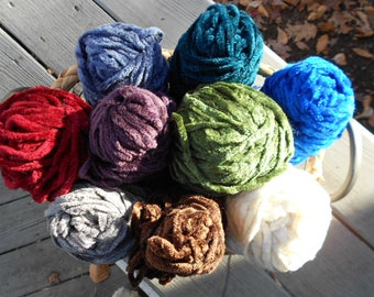 Lion Brand Thick and Quick Chenille Yarn - discontinued