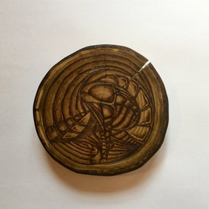 Abstract Pyrography